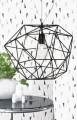 Lampa DIAMOND czarna,