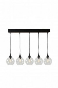 Lampa PALLAS clear, 5x∅15cm, 70x140cm  Globen Lighting