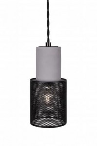 Lampa MINI RUMBLE czarna, ∅10x20cm  Globen Lighting