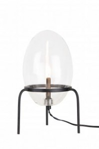 Lampa stołowa DROPS , Ø12x20cm, Globen Lighting