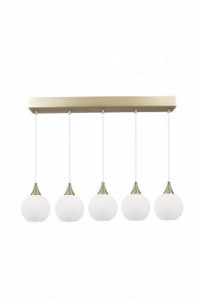 Lampa PALLAS biała, 5x∅15cm, 70x140cm  Globen Lighting
