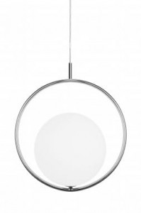 Lampa SAINT srebrna, 26x40x45cm  Globen Lighting